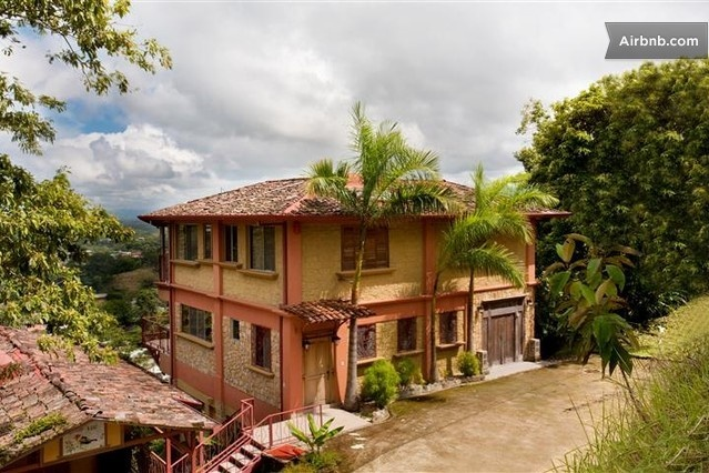 Oceanview Villa Gated Community Spa in Manuel Antonio