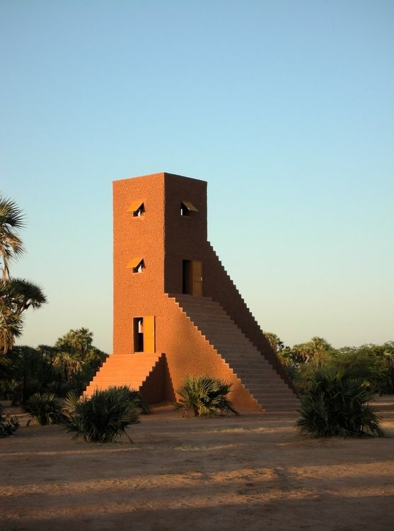 a house to watch the sun set - Sunset House, 2005 (Agadez, Niger
