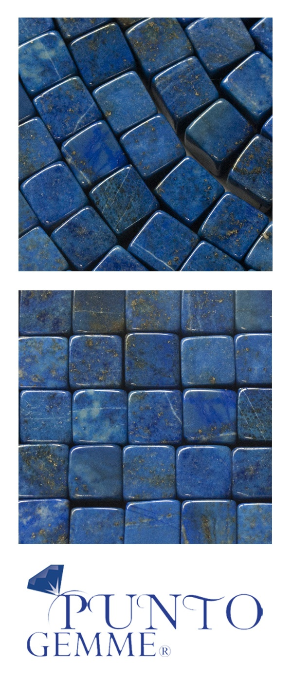 Cube of lapis 8x8mm #lapis #gemstone #gemmopoli