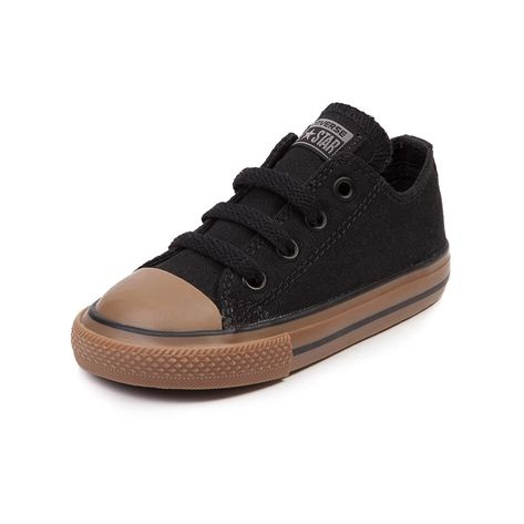 Shop for Toddler Converse All Star Lo Sneaker in Black Brown at Journeys Kidz. Shop today for the hottest brands in mens shoes and womens shoes at JourneysKidz.com.Classic Converse Lo Top for the younger courtsters. You can never be too old or young for the originals. Exclusive to Journeys Kidz, this All Star Lo features a black canvas upper and sharp contrast gum rubber sole. Available only at Journeys Kidz!
