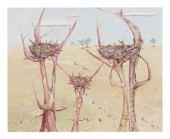 Clifton Pugh (1924-1990) Eagle's Nest, 1985