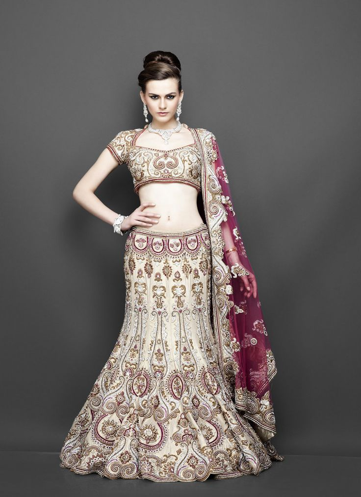 Best Images About Indian Wedding Dresses On Pinterest Gold