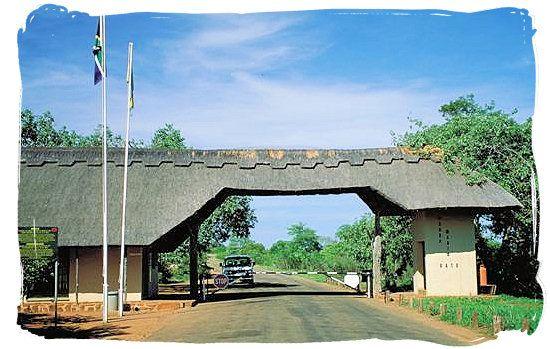 Punda Maria entrance gate to the Kruger National Park