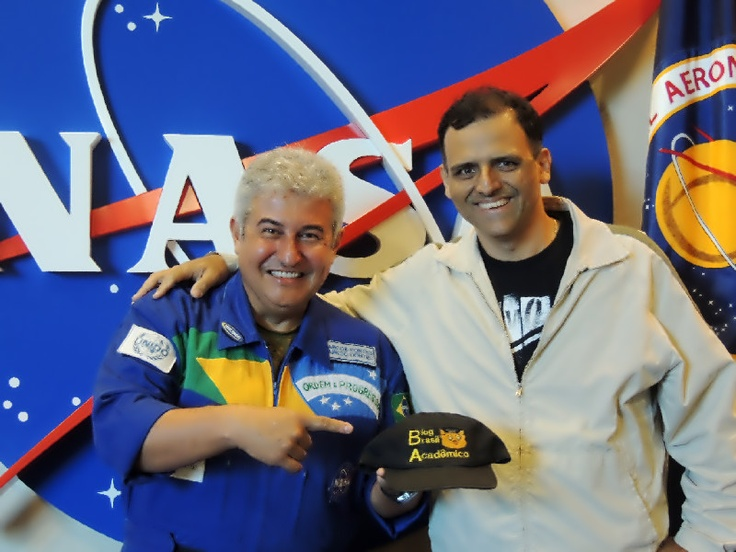 Marcos Pontes: Almoçando com o astronauta na Nasa