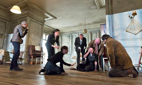 Cherry orchard, katie mitchell, young vic.