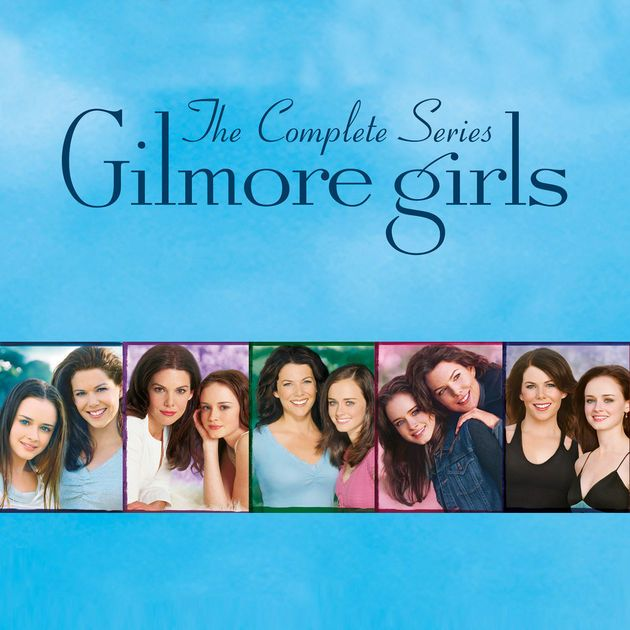 The Complete Series 1 To 7 Gilmore Girls Gilmore Girls Fan Girls Series