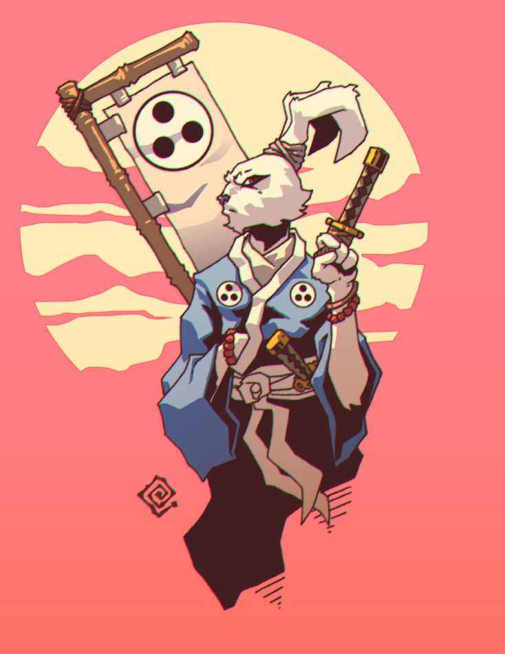 Usagi-Yojimbo by redeve on DeviantArt