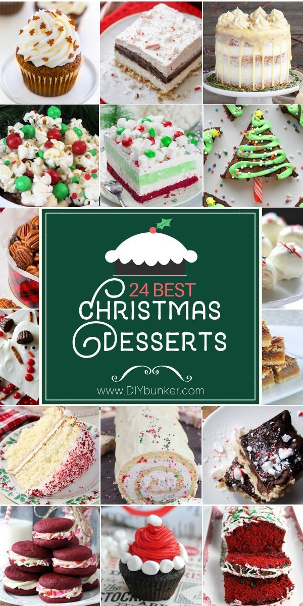 Christmas Dessert Recipes to Make for Holiday Dinners Desserts