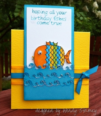 711 best images about fish themed birthday party on for Fishing birthday cards