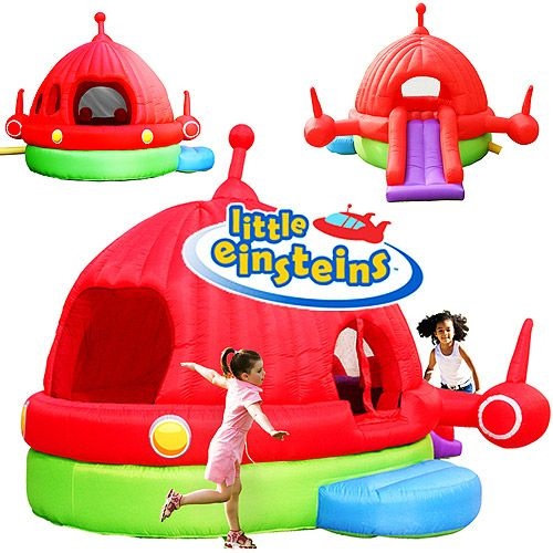 Disney's Little Einsteins Rocket Bouncer  $99.00 (Was: $ 199.00), I don't imagine this happening but it's cool to see