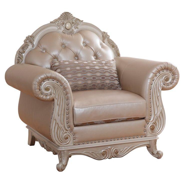 Meridian Furniture Inc Marquee Pearl Club Chair - 652-C