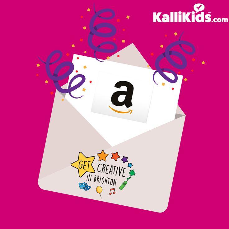 Win an Amazon Gift Voucher from Get Creative via Kalli Kids