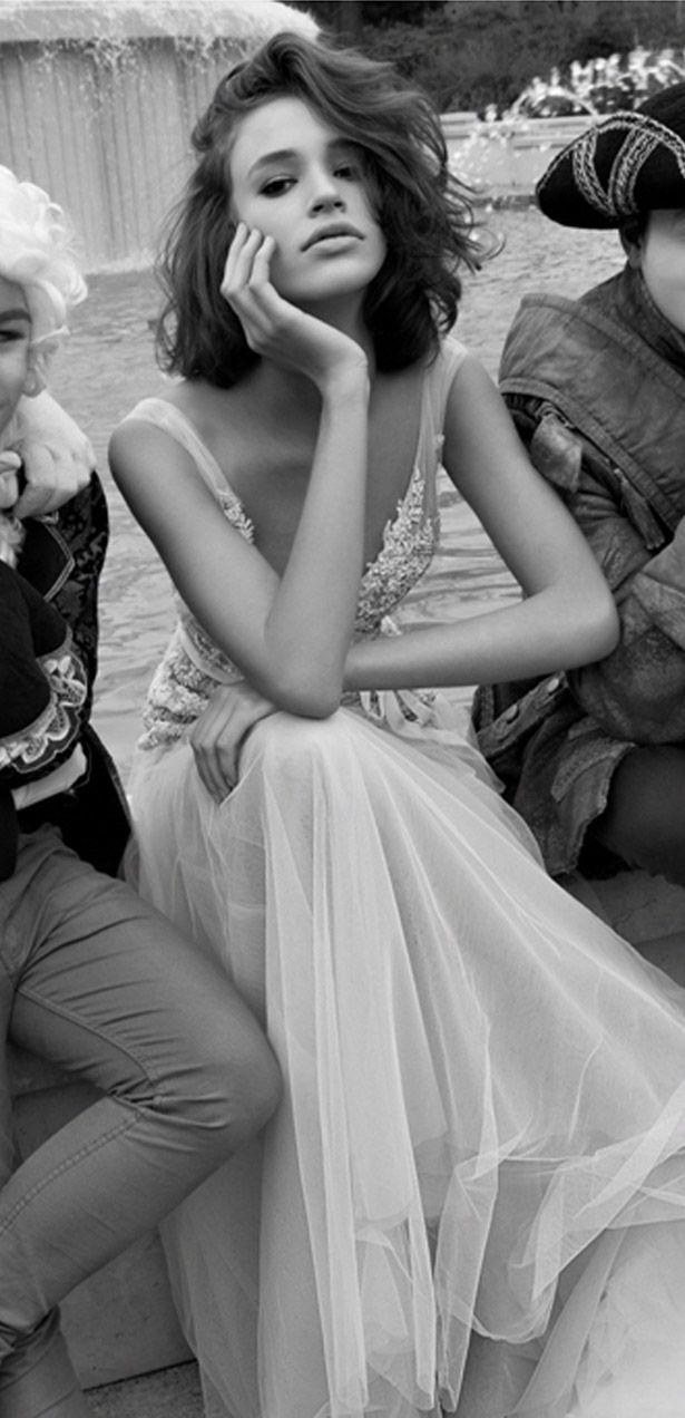 Kolekcja dla nowożeńców Liz Martinez - Mediolan 2015