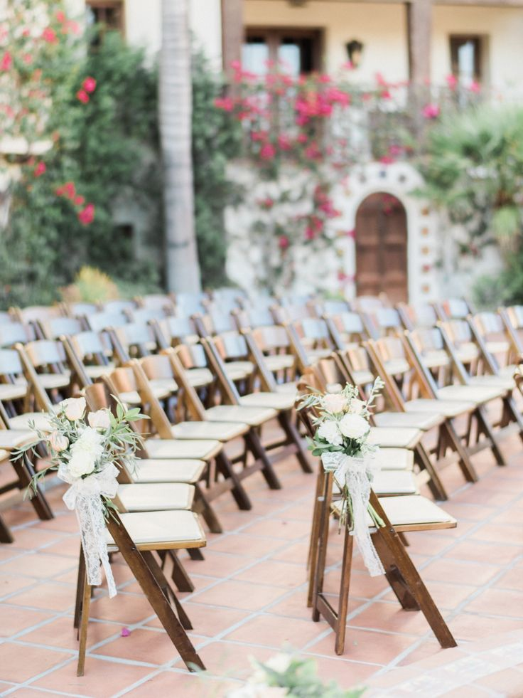 Peach + Blush Hummingbird Nest Ranch Wedding - http://www.stylemepretty.com/california-weddings/2015/12/08/peach-blush-hummingbird-nest-ranch-wedding/