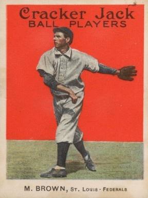 Mordecai Brown 1914 Cracker Jack #32