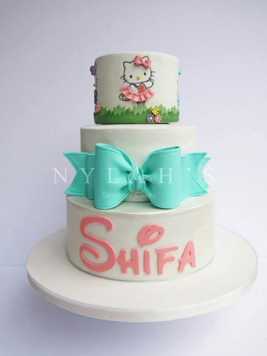 56 best hello kitty cakes images on Pinterest Hello kitty cake