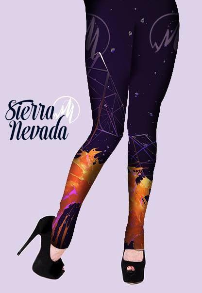 Leggins Sierra Nevada Apparel, Diseños Unicos