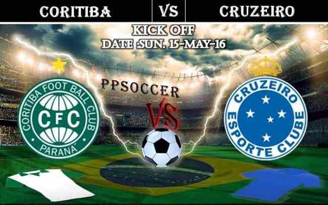 Coritiba vs Cruzeiro 15.05.2016 Free Soccer Predictions, head to head, preview, predictions score, predictions under/over Brazil: SERIE A