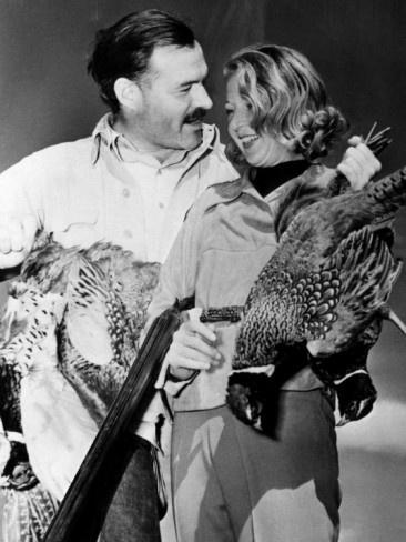 Ernest Hemingway and Martha Gellhorn on a Shooting Expedition, 1940