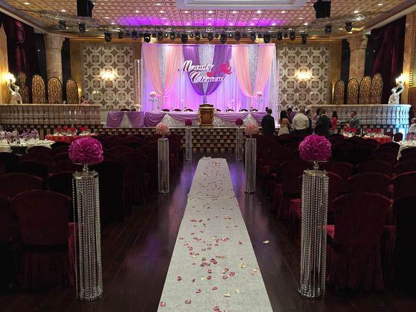 Premiere Ballroom Wedding Ceremony - Aisle.  Premiere Ballroom & Convention Centre.