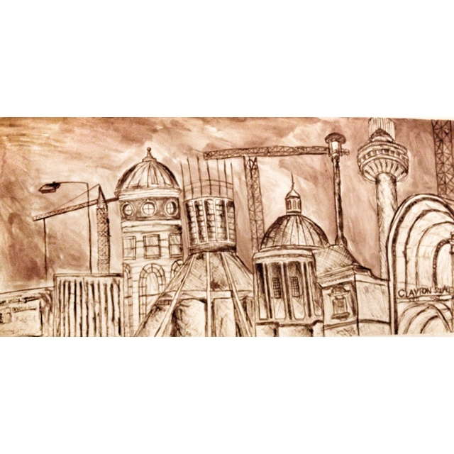 Liverpool City under regeneration - Ink