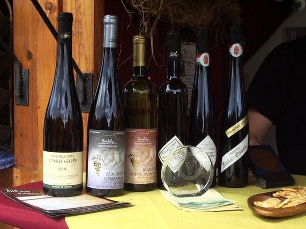 Hungarian wine from Badacsony Region