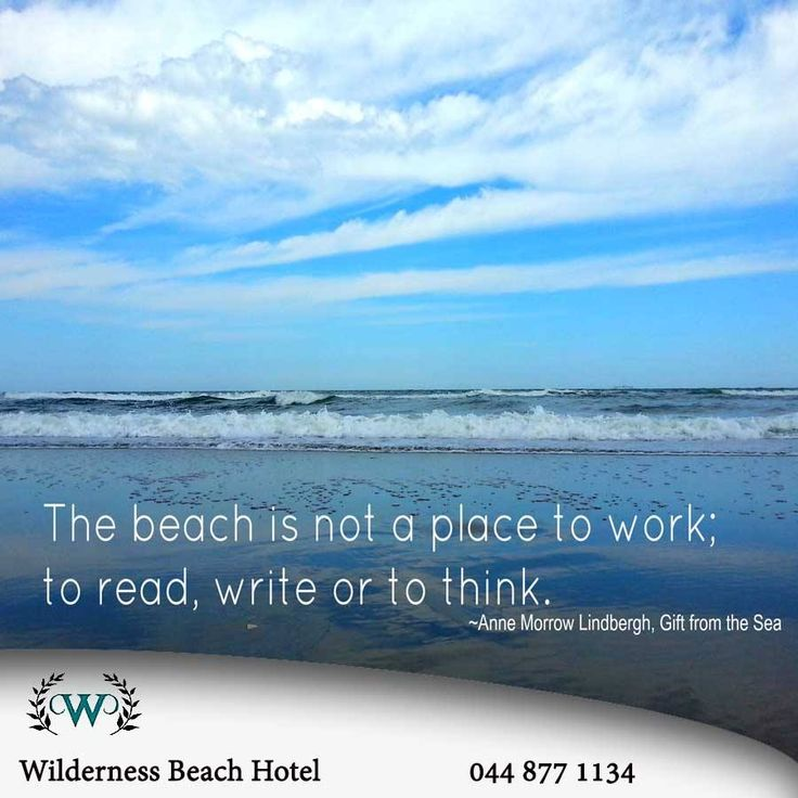 The beach is a place to do many things we enjoy, it provides clarity and serenity. What are some of the things you like doing at the beach most? Wishing you all a fantastic Sunday from Wilderness Beach Hotel. #inspiration #beach #destination