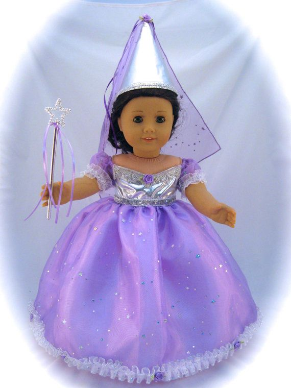 American Girl Sized Fairy Princess Dress In by enchanteddesigner
