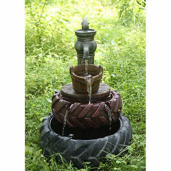 Tractor Tires Fountain