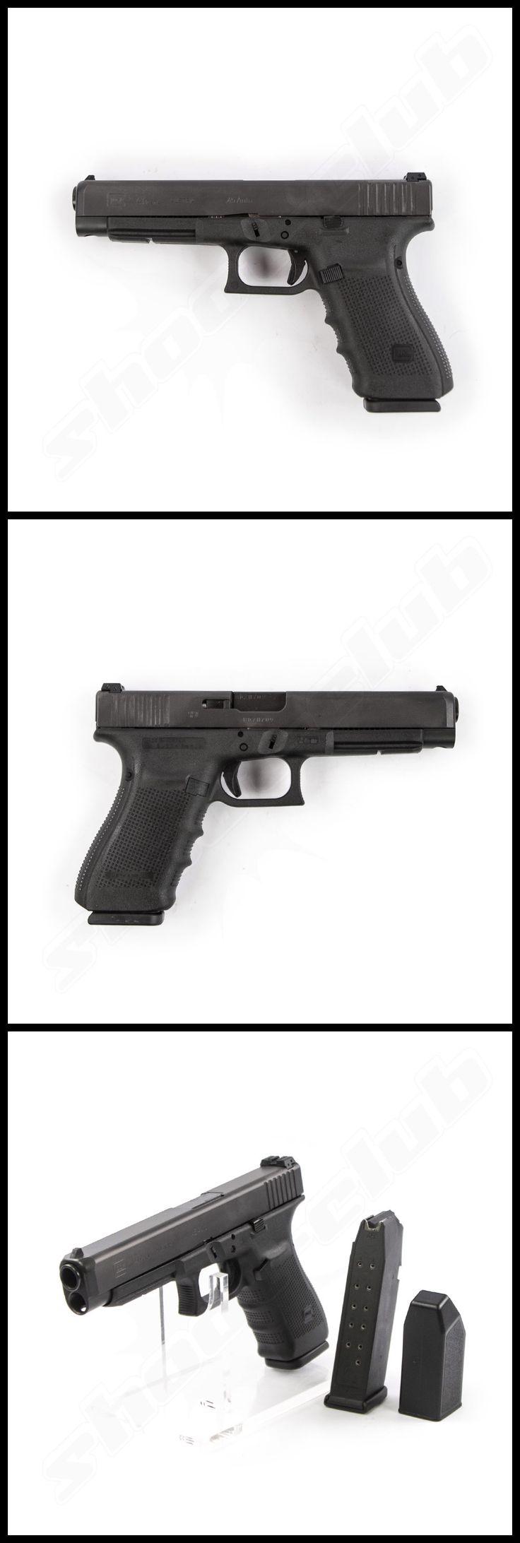 Glock 41 Gen. 4 im Kaliber .45Auto www.shoot-club.de