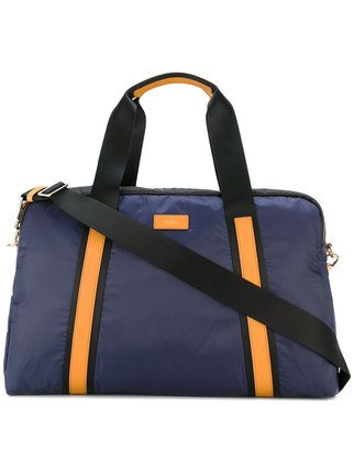 Shop Paul Smith contrast strap holdall bag .