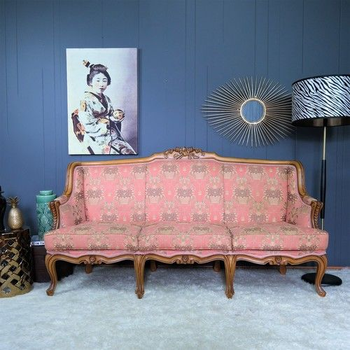 Gold Label Vintage, French Provincial Lounge, French Provincial Sofa,  Rococo Lounge, Roccoco