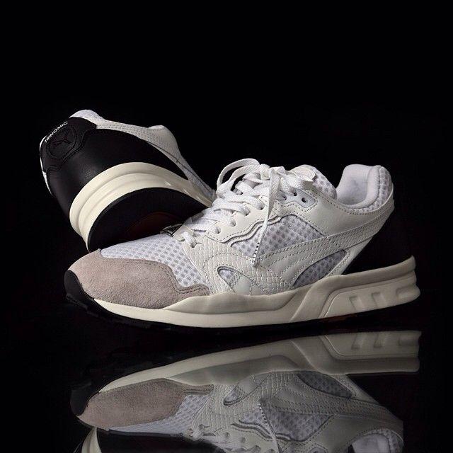 San Francisco dfa06 dca65 Details about Pair of Puma shoes, Trinomic XT-2 for Fray- ID Size 9 UK,  Colour: White