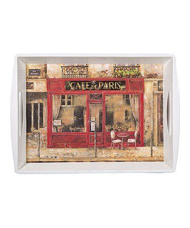 Look at this #zulilyfind! 'Café de Paris' Serving Tray #zulilyfinds
