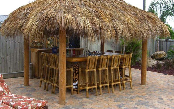 317 best images about Tiki Bar/Backyard Pavilion on ... on Tiki Bar Designs For Backyard id=25358