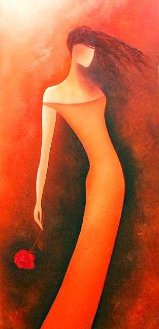 """Last Rose""...by Anita Burnaz"