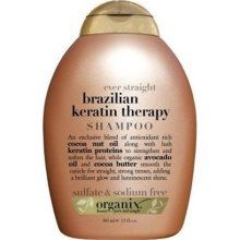 Great for girls with curly hair who want to tame frizzies when they straighten it. Also great if you have the Keratin Treatment!! Smells like coconut! yum!