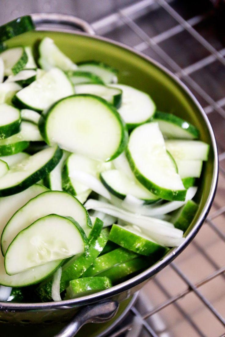 How to Freeze Cucumbers