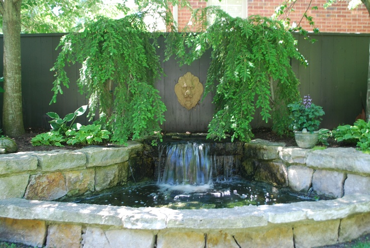 17 best images about pond project for smallish fun and big for Pond waterfall spillway ideas