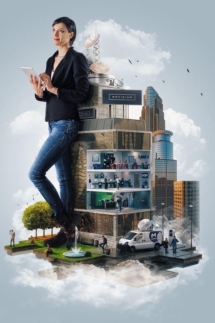 Movidiam Creative World on Behance