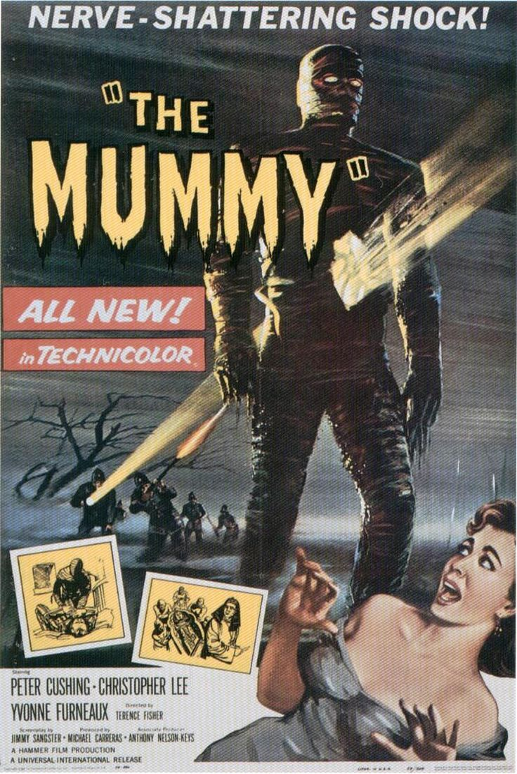This Hammer version of The Mummy is great, with Peter Cushing and Christopher Lee...next to the original Universal Classics Hammer Horror is next on my list!