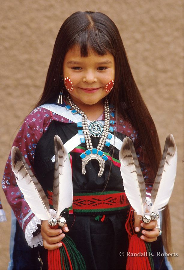 Violet Dawn Ahmie of Laguna Pueblo, poses after dancing at the Gallup Intertribal Ceremonial..