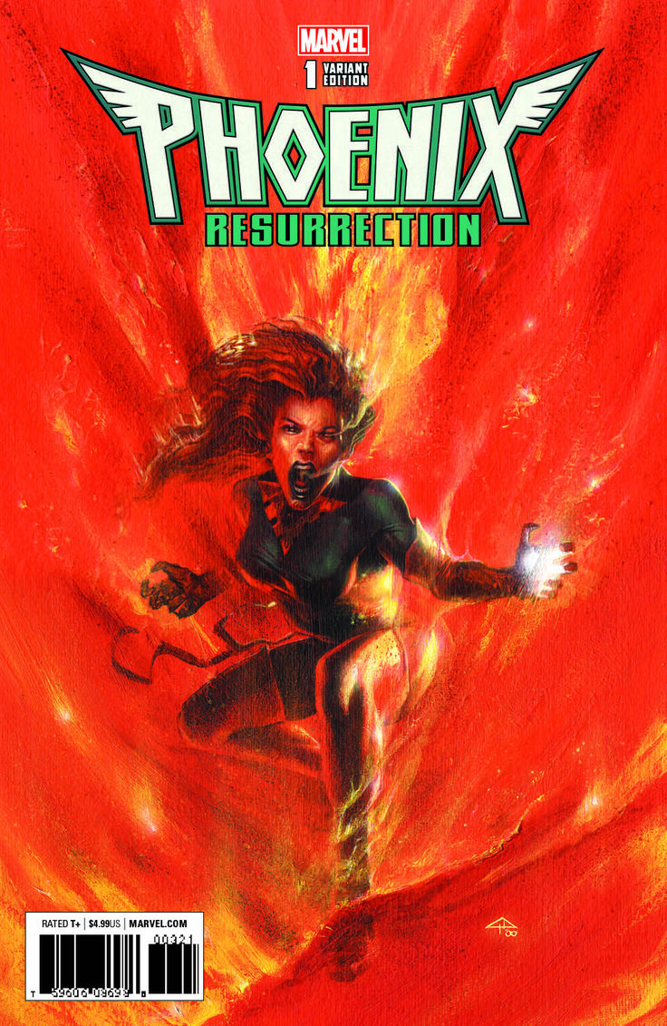 Phoenix Resurrection Exclusive Retailer Covers From Gabriele Dell'Otto, In-Hyuk Lee And JG Jones