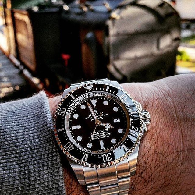 ‼️ SALES ‼️ Rolex Deepsea ⚓ ️ Water resistance 3900m ✖ ️With Box & Papers  #rolexdeepsea #rolex #sales #watch #watchporn #wristgame #wristporn #rich #money #manfashion #millionaire #billionaire #jewelry #luxury #lifestyle #gentleman #time #deepsea #dreambig #dubai #instastyle #instafashion #instalike