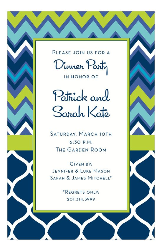 formal invitation for an event