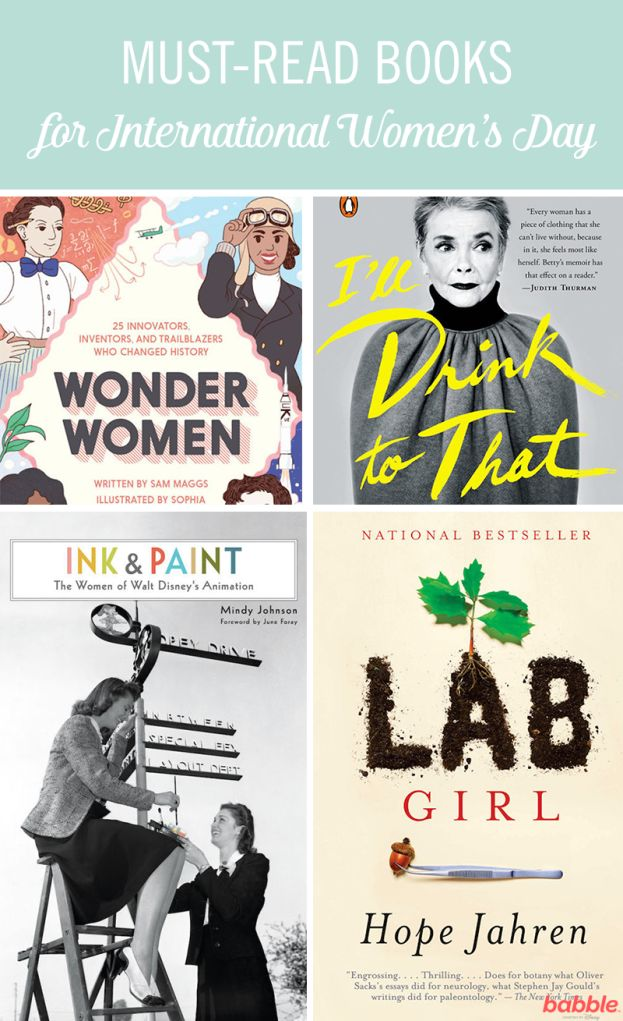 It's more important than ever that we teach little boys and girls about how freaking awesome women can be! From the female animators of Disney to incredibly talented rocket scientists, there are a whole plethora of ladies just waiting to be introduced to our kids. In honor of International Women's Day, we've rounded up our favorite must-reads featuring women who inspire us. Browse through a list of inspirational books from 'Ink & Paint: The Women of Walt Disney's Animation' to 'Difficult…