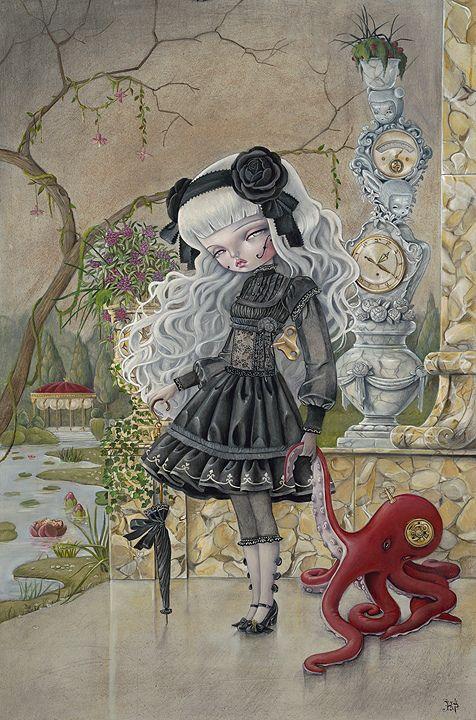 muñeca triste de Kukula