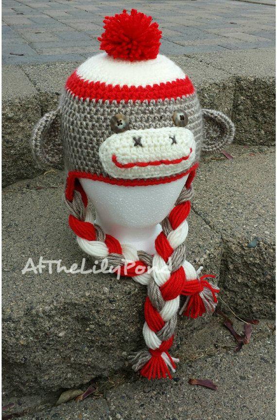 c797cb2d4f94a Sock Monkey Hat