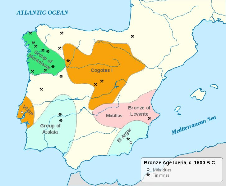 La Edad del Bronce en la Península (1500 a. C.)