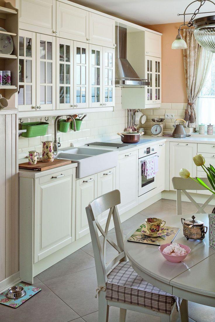 Kuchnia w stylu angielskim urzeka elegancją i zachwyca   -> Kuchnie Kremowe Polysk